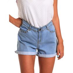 Textiel Dames Korte broeken / Bermuda's Smash S1871408 Blauw