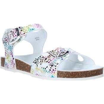 Schoenen Meisjes Sandalen / Open schoenen Grunland SB1502 Wit