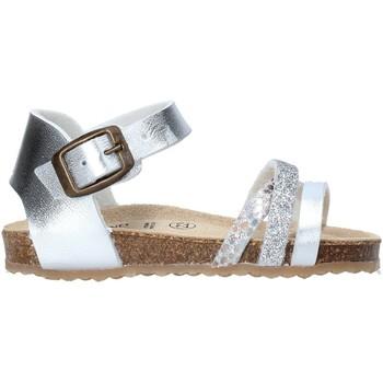 Schoenen Meisjes Sandalen / Open schoenen Grunland SB1544 Zilver