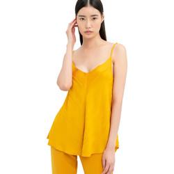 Textiel Dames Tops / Blousjes Fracomina FR20SM551 Geel