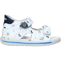 Schoenen Kinderen Sandalen / Open schoenen Falcotto 1500779 02 Wit