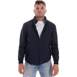 Textiel Heren Wind jackets Les Copains 9UB082 Blauw