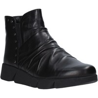 Schoenen Dames Enkellaarzen The Flexx E1549_16 Zwart