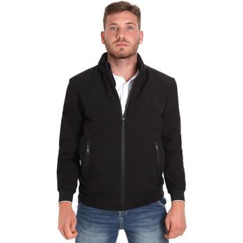 Textiel Heren Wind jackets Les Copains 9UB082 Zwart