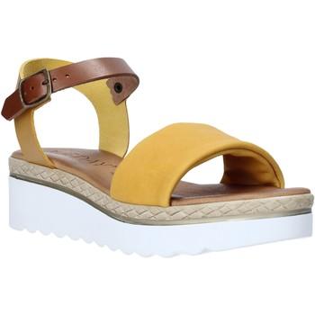 Schoenen Dames Sandalen / Open schoenen Jeiday 1278-9696 Geel