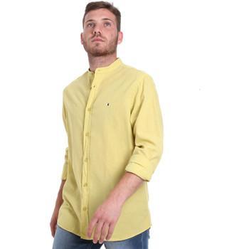 Textiel Heren Overhemden lange mouwen Les Copains 9U2722 Groen