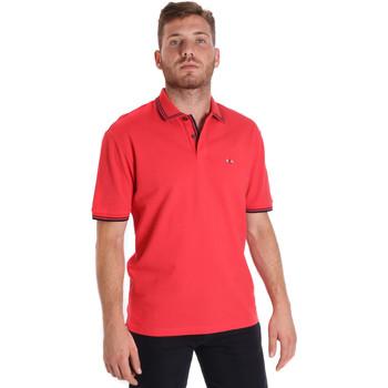 Textiel Heren Polo's korte mouwen Les Copains 9U9020 Rood