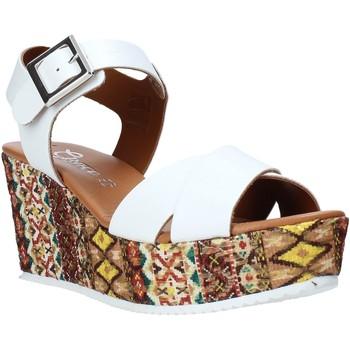 Schoenen Dames Sandalen / Open schoenen Grace Shoes 13 Wit