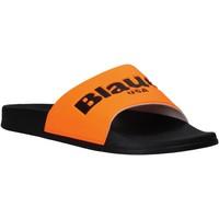 Schoenen Heren slippers Blauer S0BAY02/FLU Oranje
