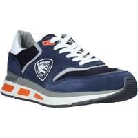 Schoenen Heren Lage sneakers Blauer S0HILO01/CAM Blauw