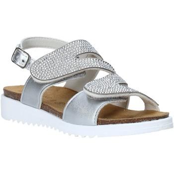 Schoenen Meisjes Sandalen / Open schoenen Grunland SB1559 Zilver