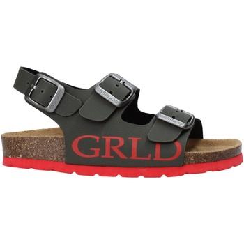 Schoenen Kinderen Sandalen / Open schoenen Grunland SB1516 Groen