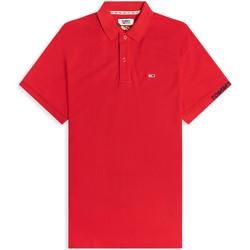 Textiel Heren Polo's korte mouwen Tommy Jeans DM0DM07802 Rood
