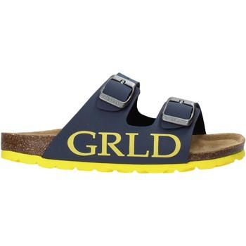 Schoenen Kinderen Leren slippers Grunland CB2420 Blauw