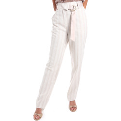 Textiel Dames Chino's Fracomina FR20SM565 Beige