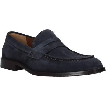 Schoenen Heren Mocassins Carmine D'urso 161432CD Blauw