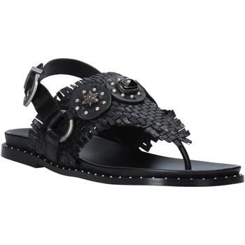 Schoenen Dames Sandalen / Open schoenen Mally 6562 Zwart