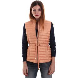 Textiel Dames Dons gevoerde jassen Geox W8225A T2412 Oranje