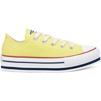 Schoenen Kinderen Lage sneakers Converse 668283C Geel