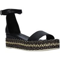 Schoenen Dames Sandalen / Open schoenen Bueno Shoes Q5908 Zwart