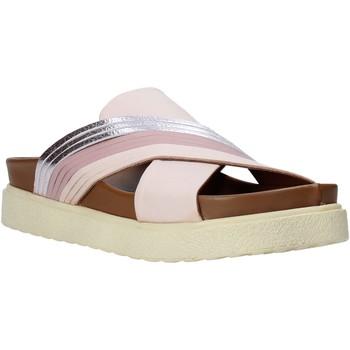 Schoenen Dames Leren slippers Bueno Shoes CM2206 Roze