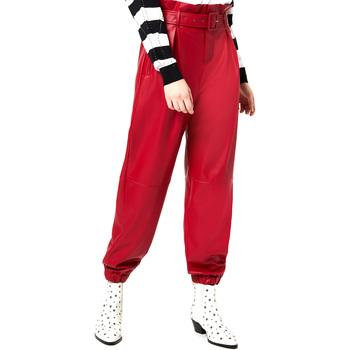 Textiel Dames Chino's Liu Jo WA0276 E0392 Rood