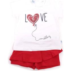 Textiel Meisjes Setjes Melby 20L7001 Rood