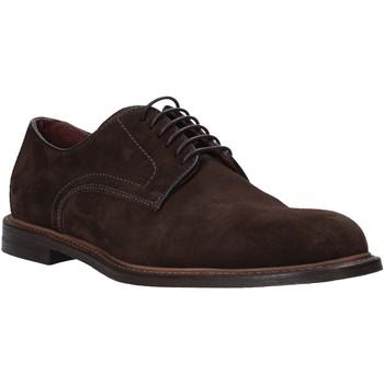 Schoenen Heren Derby Mfw 810002MW Bruin
