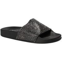 Schoenen Dames slippers Chiara Pacini C18E2506 Zwart
