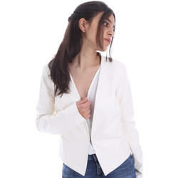 Textiel Dames Jacks / Blazers Gaudi 011FD38004 Wit