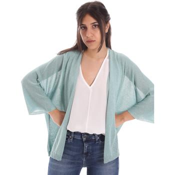 Textiel Dames Vesten / Cardigans Gaudi 011FD53010 Blauw