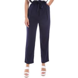 Textiel Dames Chino's Gaudi 011BD25040 Blauw