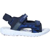Schoenen Kinderen Outdoorsandalen Lumberjack SB28206 006 S01 Blauw