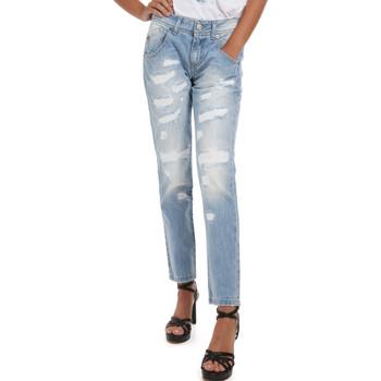 Textiel Dames Jeans Fornarina BER1I95D832DU Blauw