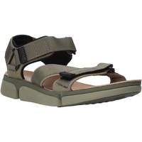 Schoenen Heren Sandalen / Open schoenen Clarks 26139564 Groen