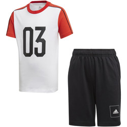 Textiel Kinderen Trainingspakken adidas Originals FL2810 Wit