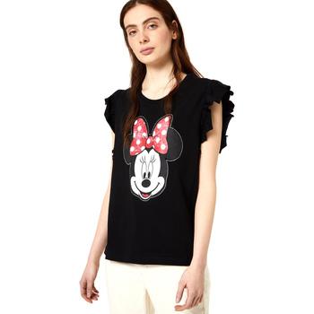 Textiel Dames T-shirts korte mouwen Liu Jo FA0408 J5904 Zwart