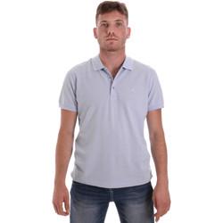 Textiel Heren Polo's korte mouwen Navigare NV82108 Blauw