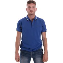 Textiel Heren Polo's korte mouwen Navigare NV82113 Blauw