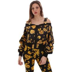 Textiel Dames Sweaters / Sweatshirts Versace C0HVB932S0774899 Zwart