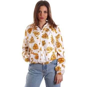 Textiel Dames Sweaters / Sweatshirts Versace C9HVB92525115003 Wit