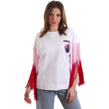 Textiel Dames T-shirts korte mouwen Versace B2HVB71511701003 Wit
