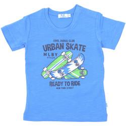 Textiel Kinderen T-shirts korte mouwen Melby 20E7370 Blauw