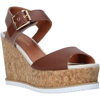 Schoenen Dames Sandalen / Open schoenen Lumberjack SW83106 001 Q85 Bruin