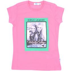 Textiel Meisjes T-shirts korte mouwen Melby 70E5645 Roze