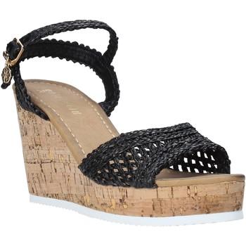 Schoenen Dames Sandalen / Open schoenen Gold&gold A20 GJ263 Zwart