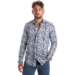 Textiel Heren Overhemden lange mouwen Betwoin SELZ 6635535 Blauw