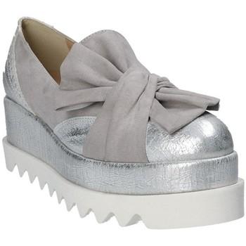 Schoenen Dames Espadrilles Grace Shoes 1304 Grijs