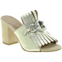 Schoenen Dames Leren slippers Mally 6087 Anderen