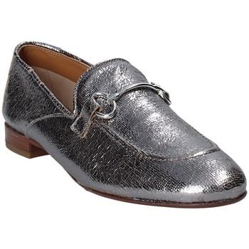 Schoenen Dames Mocassins Mally 6105 Grijs
